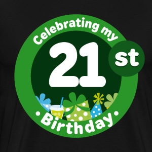21st Birthday Celebration T-Shirts - Men's Premium T-Shirt