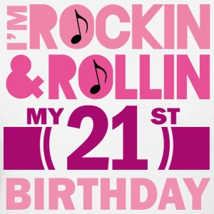 21st Birthday Rock N Roll Women's T-Shirts - Women's T-Shirt