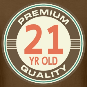 21st Birthday Funny Vintage T-Shirts - Men's T-Shirt
