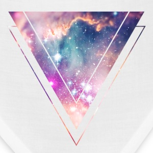 Galaxy - Space - Universe / Hipster Triangle Caps - Bandana