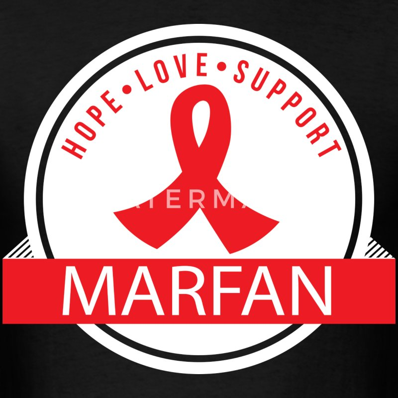 Marfan Hope Love Support T-Shirts - Men's T-Shirt