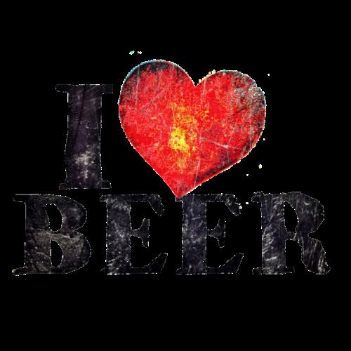 I Love Beer Distressed
