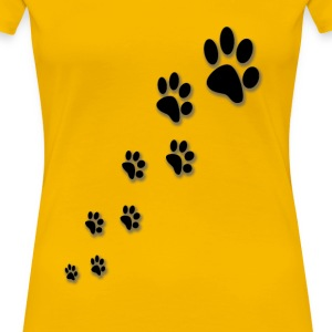 paws - Women's Premium T-Shirt