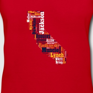 All Time California Football Greats Women's V-Neck - Women's V-Neck T-Shirt