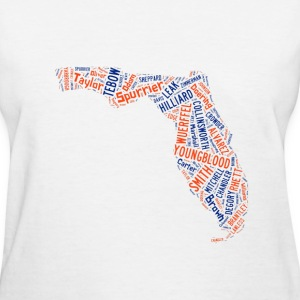 All Time Florida Football Greats Women's Basic T-S - Women's T-Shirt