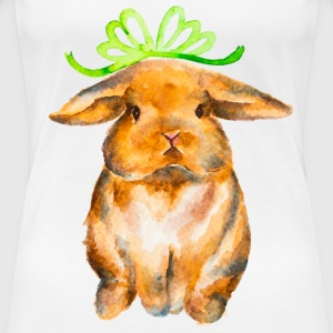 One Chubby Bunny - Women's Premium T-Shirt