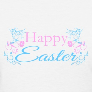 Happy Easter Flowers - Women's T-Shirt