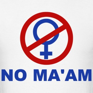 No Ma'am – Married with Children - Men's T-Shirt
