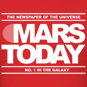 Mars Today – Total Recall - Men's T-Shirt