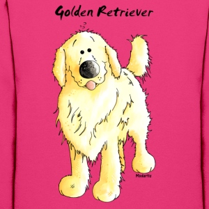 Cute Golden Retriever Hoodies - Women's Hoodie