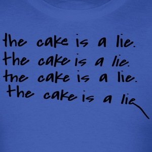 The Cake Is A Lie T-Shirts - Men's T-Shirt