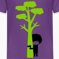 Tree hugger boy Kids' Premium T-Shirt