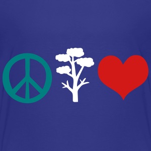 Peace tree and heart Toddler Premium T-Shirt - Toddler Premium T-Shirt