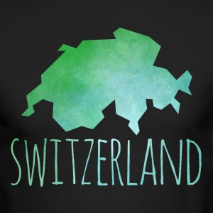switzerland Long Sleeve Shirts - Men's Long Sleeve T-Shirt by Next Level