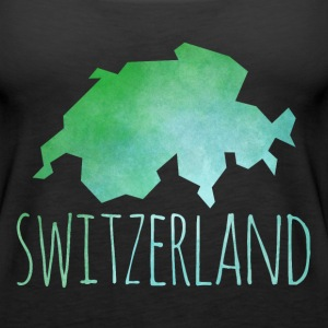 switzerland Tanks - Women's Premium Tank Top
