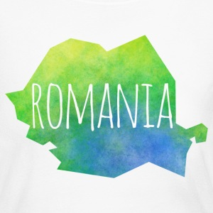 romania Long Sleeve Shirts - Women's Long Sleeve Jersey T-Shirt