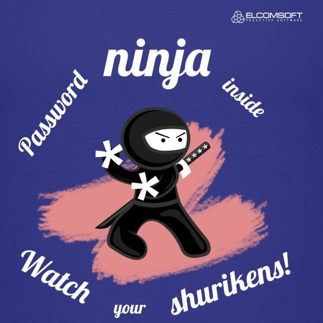 Password Ninja white