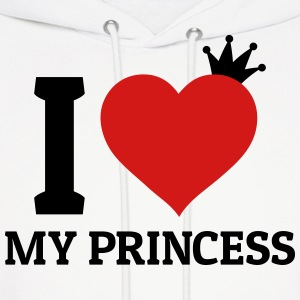 I love my Princess Hoodies - Men's Hoodie