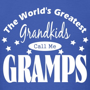 Call Me Gramps Vector - Men's T-Shirt