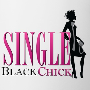 Single Black Chick Mugs & Drinkware - Coffee/Tea Mug