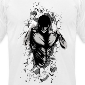 Attack on rocks - Men's T-Shirt by American Apparel
