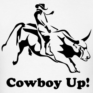 Cowboy Up - Men's T-Shirt