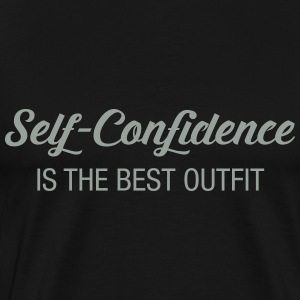 Self -Confidence Is The Best Outfit T-Shirts - Men's Premium T-Shirt