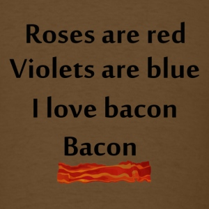 Bacon poem - Men's T-Shirt