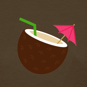 coconut umbrella drink - Women's T-Shirt
