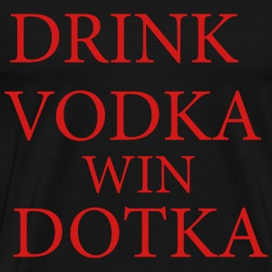 dota 2 drink vodka - Men's Premium T-Shirt