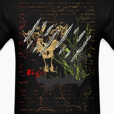 tiger t shirt design - tigers in jungle animal