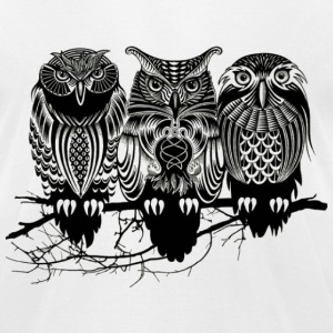 Owls of the Nile ! - Men's T-Shirt by American Apparel