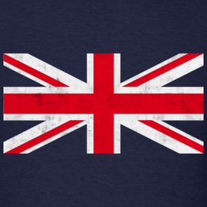 Vintage Union Jack T-Shirts - Men's T-Shirt