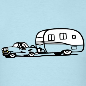 vintage trailer car retro shasta shirt color - Men's T-Shirt