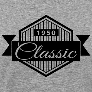 Birthday 1950 Classic Vintage Edition - Men's Premium T-Shirt