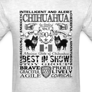 Design ~ Chihuahua 'Best in Show' T shirt