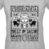 Design ~ Women's Chihuahua 'Best in Show' T shirt