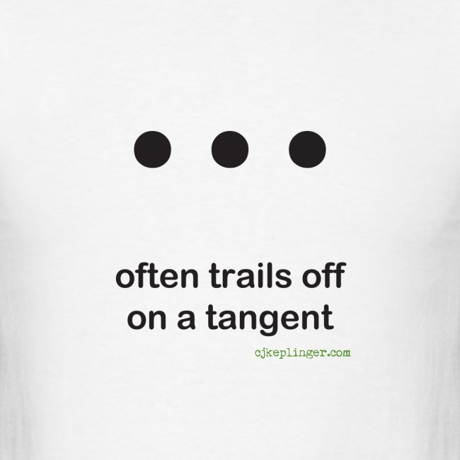 Punctuation Personality: Ellipses Tee