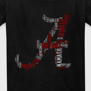 All Time Alabama Football Greats A Design Kid's Ba - Kids' T-Shirt