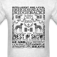 Design ~ Rhodesian Ridgeback 'Best in Show' T shirt