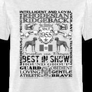 Design ~ Rhodesian Ridgeback 'Best in Show' T shirt