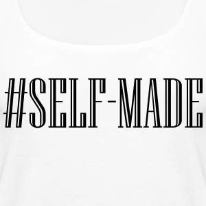 Self Made - Black Tanks - Women's Premium Tank Top