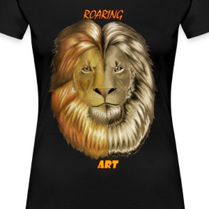 Regal Lion Womens - Women's Premium T-Shirt