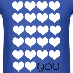 LOVE LOVE YOU Men's T-Shirt - Men's T-Shirt