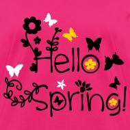 Design ~ Hello Spring Women's T-Shirt