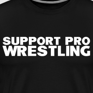 Support Pro Wrestling - Men's Premium T-Shirt