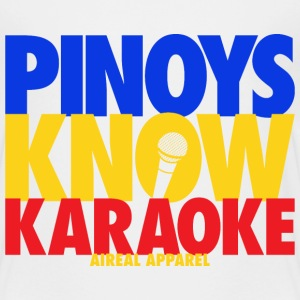 Pinoys Know Karaoke Kids Tee Shirt by AiReal Appar - Kids' Premium T-Shirt