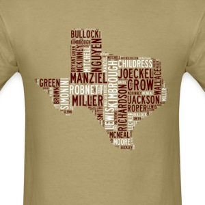 All Time Texas Aggieland Football Greats Men's Bas - Men's T-Shirt