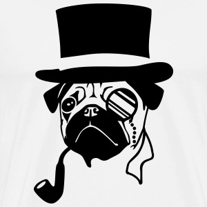 Sir Pug T-Shirts - Men's Premium T-Shirt