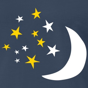 Moon and Stars T-Shirts - Men's Premium T-Shirt